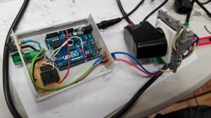 Remote controll panel
