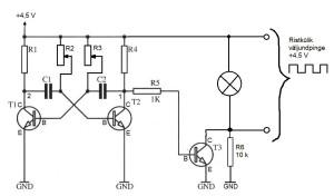 Multivibraatori skeem